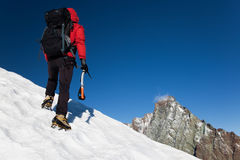 гора альпиниста Стоковые Изображения RF