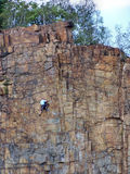 гора альпинистов Стоковые Фото