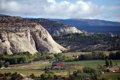 Гора амбара и утеса Стоковое фото RF