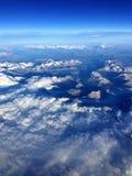 Гора Анд от воздуха Стоковые Изображения RF