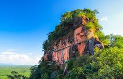 Гора ландшафта в Таиланде Стоковая Фотография RF