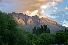 Гора Аргентины Piltriquitron bolson El Стоковая Фотография RF