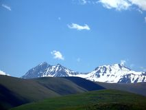 гора Армении aragats Стоковые Изображения