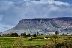 Гора Бен Bulbin, Co Sligo Стоковое Изображение RF