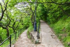 Гора Будапешт Венгрия Gellert Стоковое Изображение RF