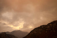гора бурная Стоковые Фотографии RF