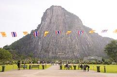 Гора Будды в Chonburi - Паттайя Таиланде стоковая фотография