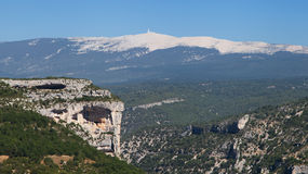 Гора Венту Стоковая Фотография