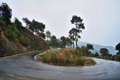 Гора велосипед в Непале Стоковое Изображение RF