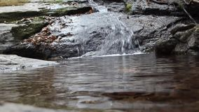 Гора воды долины cheonmasan видеоматериал