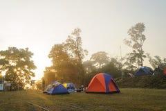 Гора восхода солнца тропическая Стоковые Изображения