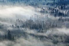 Гора вулкана Bromo стоковая фотография rf