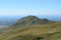 Гора в горных вершинах Стоковое Изображение