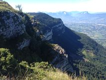 Гора в горных вершинах Стоковое Фото
