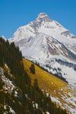 Гора в горных вершинах стоковые изображения