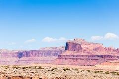 Гора в запятнанном каньоне волка Стоковые Изображения