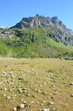 Гора в Кавказе Стоковые Изображения RF