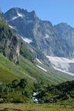 Гора в Кавказе Стоковая Фотография