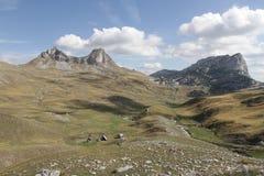 Гора в национальном парке Durmitor Стоковая Фотография