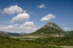 Гора в национальном парке Gennargentu, Сардинии Стоковые Изображения RF