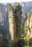 Гора в национальном парке Wulingyuan, Китай аллилуйя воплощения Стоковая Фотография RF