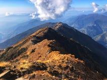 Гора в Непале стоковая фотография rf