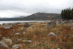 Гора в Норвегии стоковые изображения