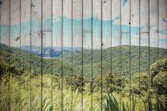 Гора в Таиланде с влиянием цвета фильтра Стоковая Фотография RF
