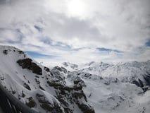 Гора в Энгельберге, Швейцарии Стоковая Фотография