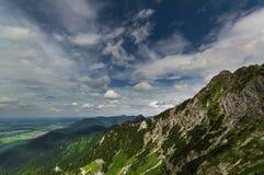 Гора в allgau, Баварии Стоковая Фотография RF