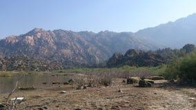 Гора в Bafa Golu Стоковая Фотография