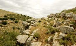 Гора Галилеи взгляда природы весны Стоковое фото RF