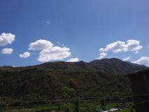 Гора Гималаев стоковые изображения rf