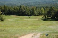 гора гольфа стоковое фото rf