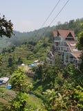 Гора гостиницы мистическая стоковое изображение rf