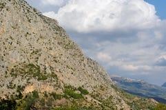 гора деревушки Стоковые Изображения