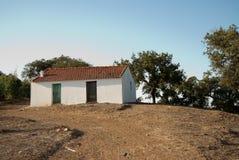 гора дома фермы Стоковые Изображения