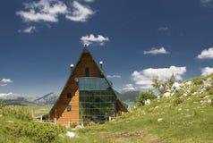 гора дома Стоковое Изображение