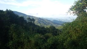 Гора джунглей в Huay-naam-dang Стоковое Изображение