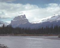 гора замока alberta banff Канады Стоковая Фотография RF