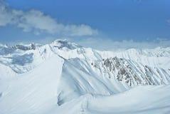 Гора зимы в Georgia Стоковое Фото