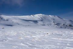 Гора зимы Стоковое фото RF