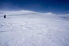 Гора зимы Стоковое Изображение RF