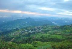 Гора и взгляд berk ушата Phu красивая стоковые изображения rf