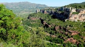 Гора и дорога стоковое фото rf