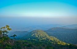 Гора и небо Стоковые Изображения RF