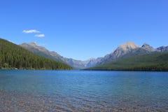 Гора и озеро 20 Стоковые Изображения