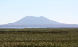 Гора и озеро Стоковое Изображение RF