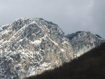 Гора и снежок Стоковые Изображения RF
