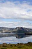 Гора и фьорд Стоковая Фотография RF